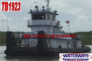 TB1923 – 1800 HP TOWBOAT