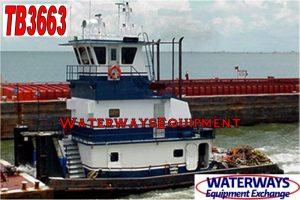 TB3663 - 800 HP TOWBOAT