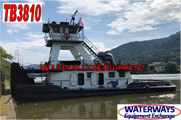TB3810 - 1000 HP TOWBOAT