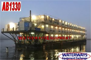 AB3330 – 290 PERSON ACCOMMODATIONS BARGE