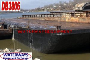 DB3806 - 195' x 35' x 10.5' MATERIAL DECK BARGE