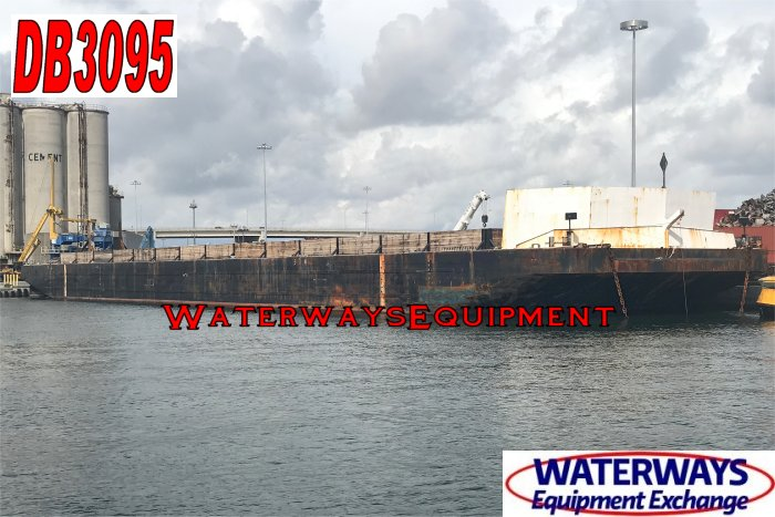 DB3095 – 343′ x 76′ x 18′ ABS DECK BARGE