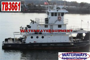 TB3661 – 1320 HP TOWBOAT