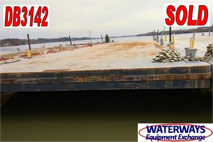 DB3142 – 120′ x 30′ x 7′ DECK BARGE - SOLD
