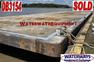 DB3154 – 110′ x 30′ x 7′ DECK BARGE - SOLD