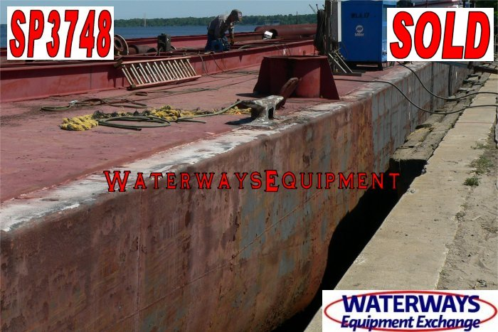 SP3748 – 264′ x 50′ x 12′ SPUD BARGE - SOLD