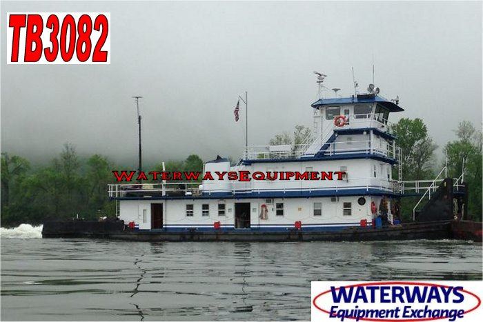 TB3082 - 3800 HP TOWBOAT