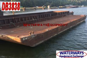 DB3838 - 120' x 26' x 7' DECK BARGE