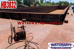 HB3832 - 260' x 52.5' x 12' SUPER JUMBO HOPPER