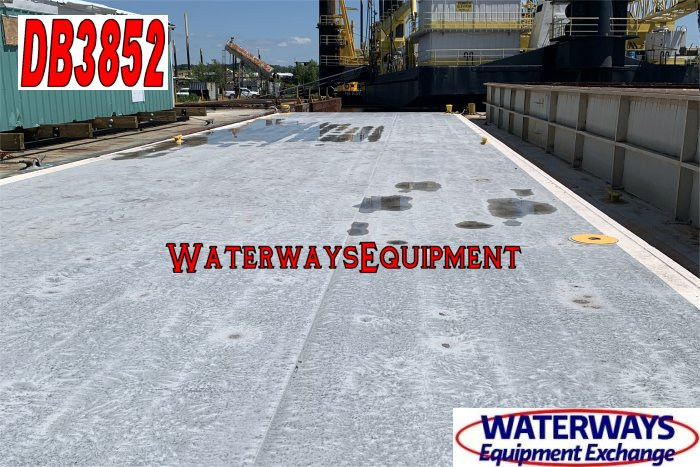 DB3852 - 120' x 30' x 7' DECK BARGE