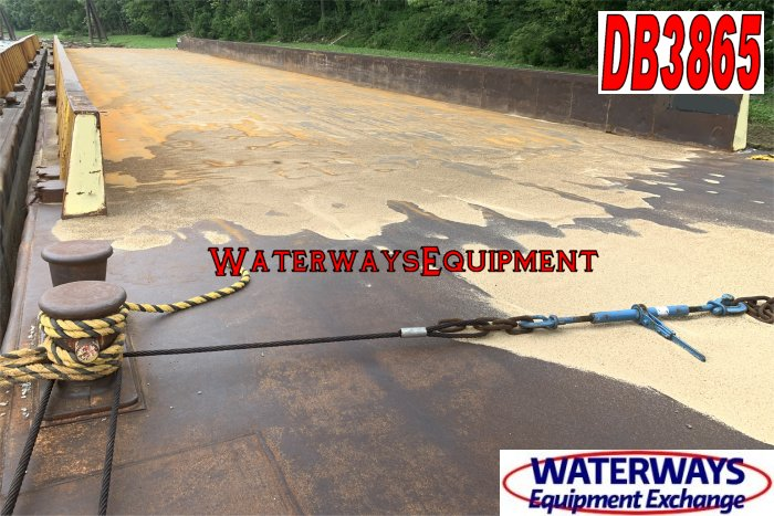 DB3865 - 195' x 35' x 9.5' MATERIAL DECK BARGE