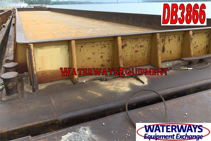 DB3866 - 195' x 35' x 9.5' MATERIAL DECK BARGE