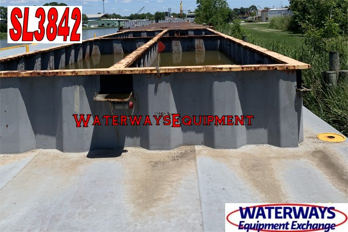 SL3842 - 120' x 30' x 7' SPOIL BARGE