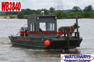 WB3840 - 225 HP WELDBILT WORK BOAT