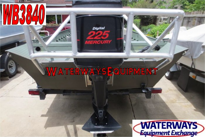 WB3840 - 225 HP WELDBILT WORK BOAT
