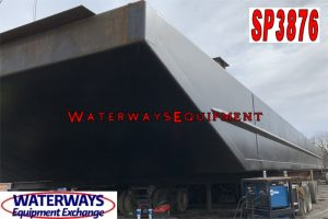 SP3876 – NEW 150′ x 54′ x 8′ SPUD BARGE