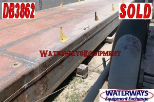 DB3862 – 120′ x 30′ x 7′ DECK BARGE