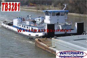 TB3281 – 3375 HP RETRACTABLE TOWBOAT