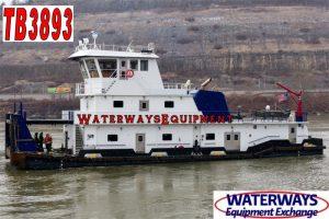 TB3893 - 2680 HP TOWBOAT