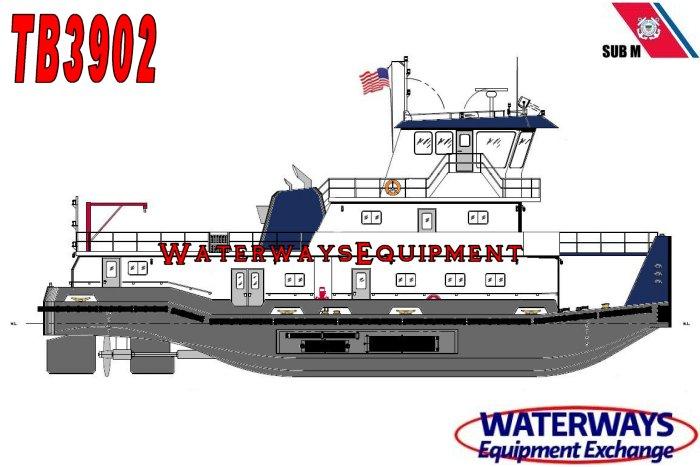 TB3902 - NEW 3200 HP TOWBOAT