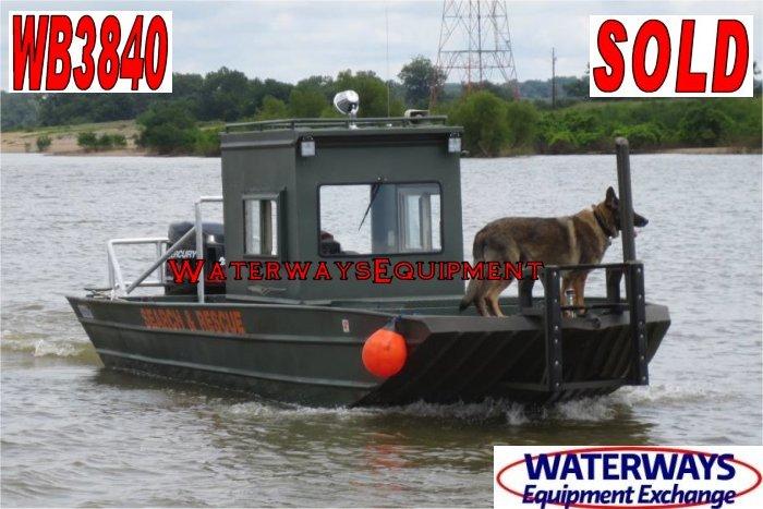 WB3840 – 225 HP WELDBILT WORK BOAT - SOLD