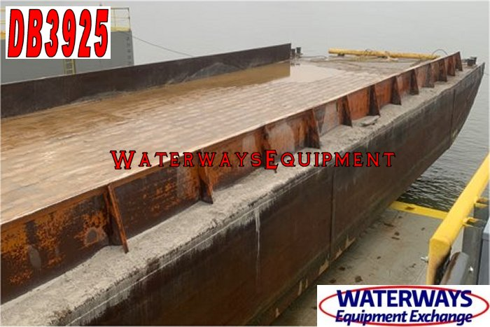 DB3925 - 195' x 35' x 9.5' MATERIAL DECK BARGE