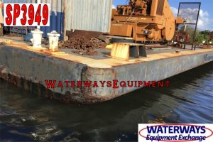 SP3949 - 140' x 64' x 7' SPUD BARGE