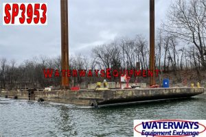 SP3953 - 130' x 50' x 8' SPUD BARGE