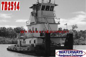 TB2514 - 1700 HP TOWBOAT