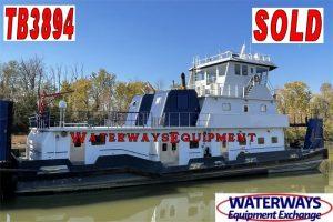 TB3894 – 2680 HP TOWBOAT - SOLD
