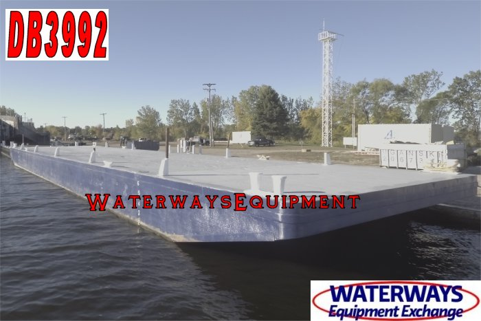 DB3992 - 120' x 30' x 7' DECK BARGE