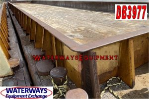 DB3977 - 195' x 35' x 9.5' MATERIAL DECK BARGE