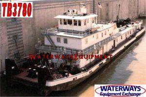 TB3780 - 4000 HP TOWBOAT