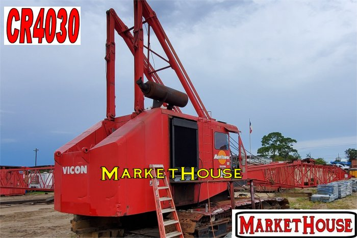 CR4030 - 1974 MANITOWOC 3900 VICON CRAWLER CRANE