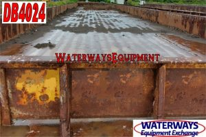 DB4024 - 195' x 35' x 9.5' MATERIAL DECK BARGE