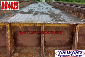 DB4025 - 195' x 35' x 9.5' MATERIAL DECK BARGE