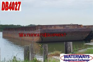 DB4027 - 195′ x 35′ x 9.5′ MATERIAL DECK BARGE