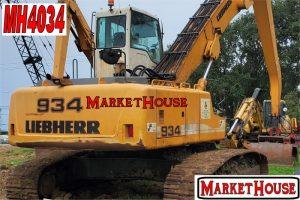 MH4034 - 2012 LIEBHERR 934 MATERIAL HANDLER