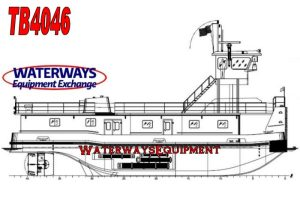 TB4046 - 2600 HP RETRACTABLE TOWBOAT
